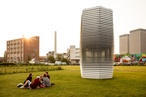 The world's first smog-fighting urban sculpture is here
