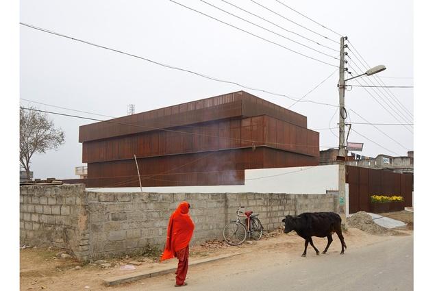 Exteriors category: Photographer: Edmund Sumner. Lattice House, Kashmir, India. Architect: sP+A Architects (Sameep Padora).