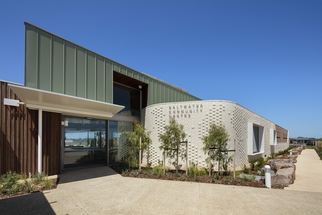 Melbourne Prize: Saltwater Community Centre by Croxon Ramsay Architects.