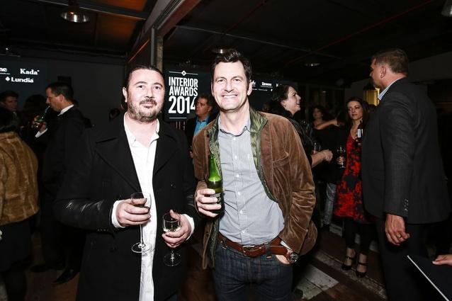 Left: Todd Stevenson of Powersurge Metalworks. Right: Clarke Pritchard of Designworks.