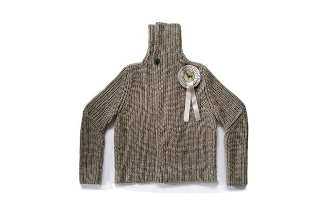 Christien Meindertsma's One Sheep Sweater.