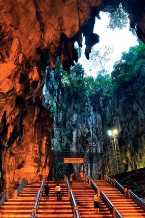 Batu Caves and Temple.
