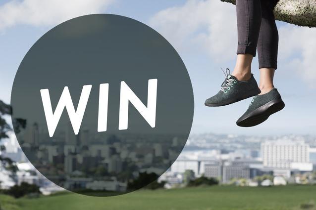 Win one of 2 pairs of wool Allbird runners