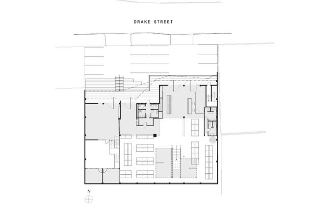 Ground-floor plan.