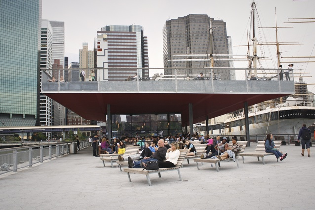 SHoP Architects Pier 15 and East River Waterfront redevelopment.