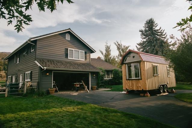 Nikki and Mitchell's tiny house.