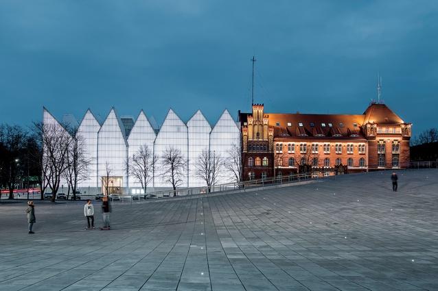 World Building of the Year: National Museum in Szczecin – Dialogue Centre 'Przelomy', Szczecin, Poland, by Robert Konieczny KWK Promes.