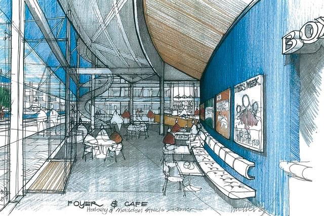 Foyer Architecture Pdf : Cedar crucible asb waterfront theatre architecture now