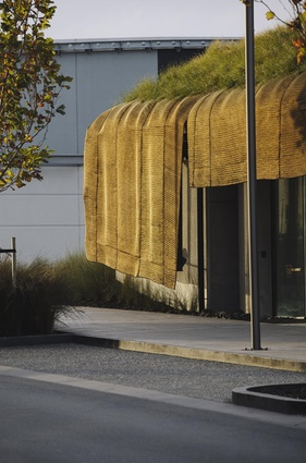 Small Public Architecture Award: Te Kaitaka: 'The Cloak' by Fearon Hay Architects.