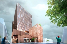 John Wardle Architects' Collingwood office tower approved