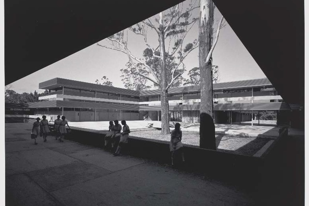 Pennant Hills High School in 1967.