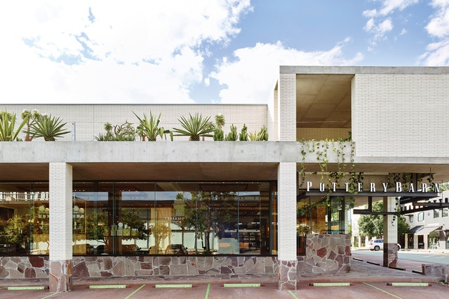 """The 19 Wandoo Street project encompasses many elements of Richards and Spence's repertoire for the precinct, including colonnades, canopied edges and brick """"pop-up lanterns."""""""