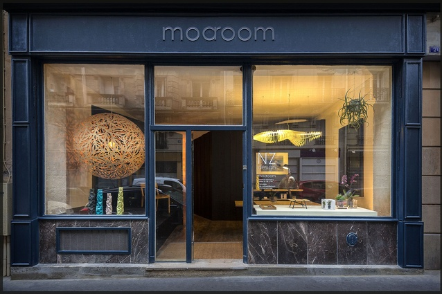 Moaroom on Paris' Right Bank is entirely dedicated to New Zealand design.