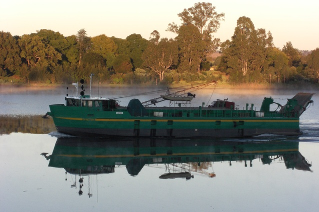 A Riverboat on the Grafton River.