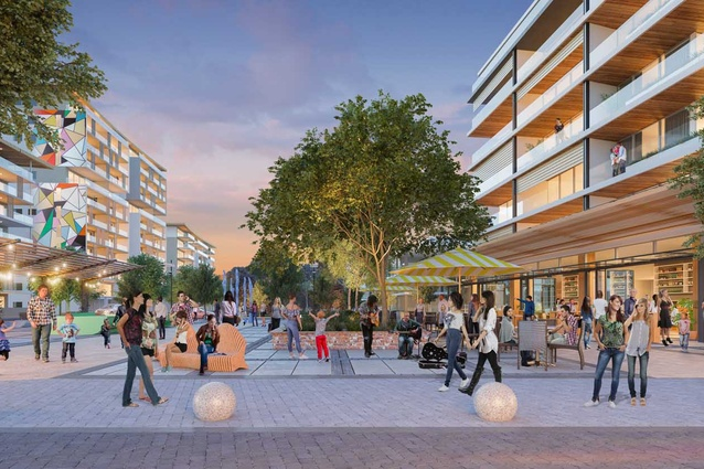 The proposed Connect Joondalup development.