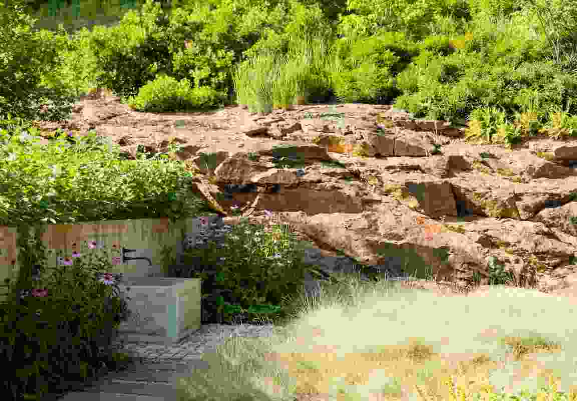 Iron Mountain House landscape by Nelson Byrd Woltz Landscape Architects.