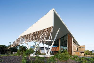 The Sustainable Buildings Research Centre at the University of Wollongong by Cox Richardson is one of the first buildings in Australia striving for Living Building Challenge certification.