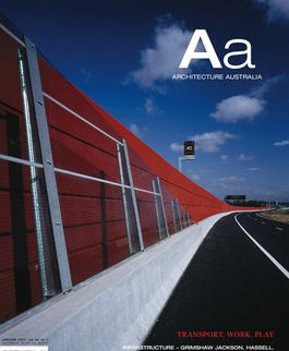 Architecture Australia, January 2007
