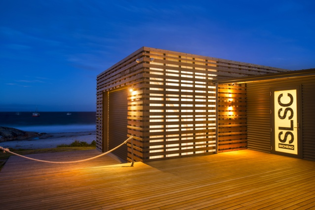 Bicheno Surf Life Saving Club & Boathouse by Birelli art + design + architecture.