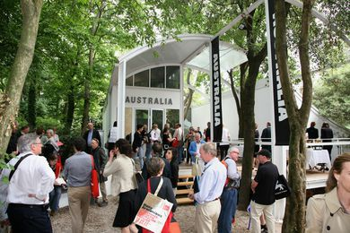 The Philip Cox-designed Australian Pavilion at the 2011 Venice Architecture Biennale.