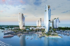 Qld gov't dumps five-tower Gold Coast casino resort, commits to 'low-density' masterplan