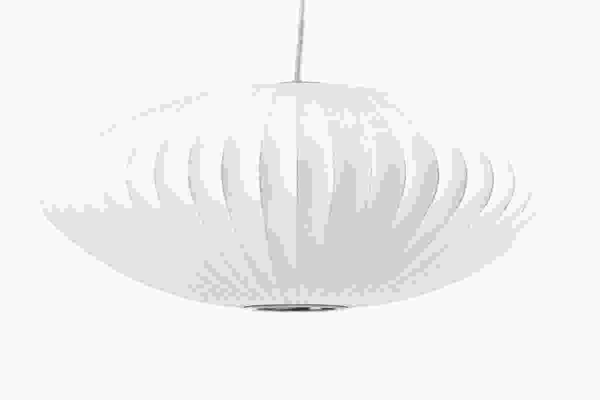 Nelson's 1947 Bubble Lamp is part of the permanent collection at MOMA, New York.