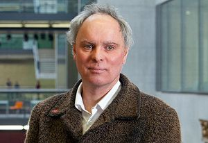 Jeremy Till, architect, writer and pro-vice-chancellor of London's Central Saint Martins.