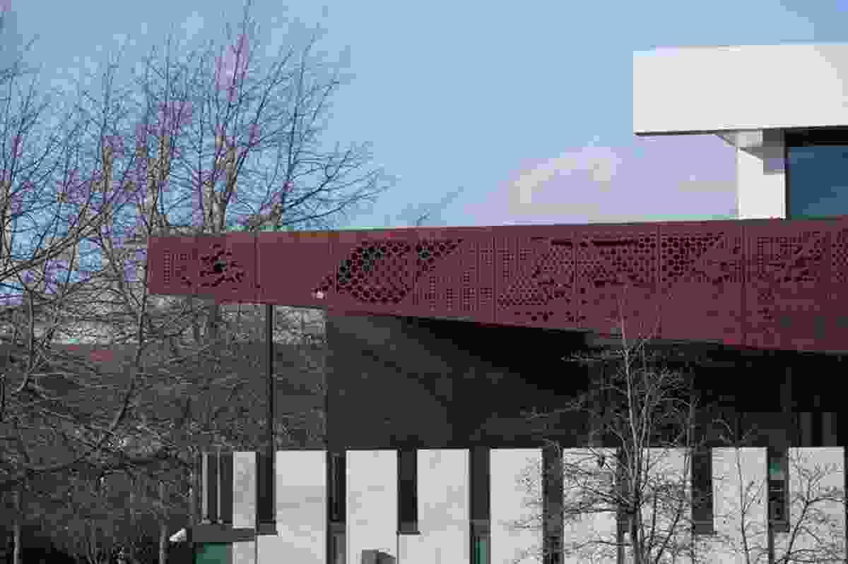 Public Architecture category finalist: Rotorua Police Station by Leuschke Group and Vincent Chrisp & Partners.