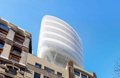 FJMT designs seven-storey 'cloud' over heritage buildings in central Sydney