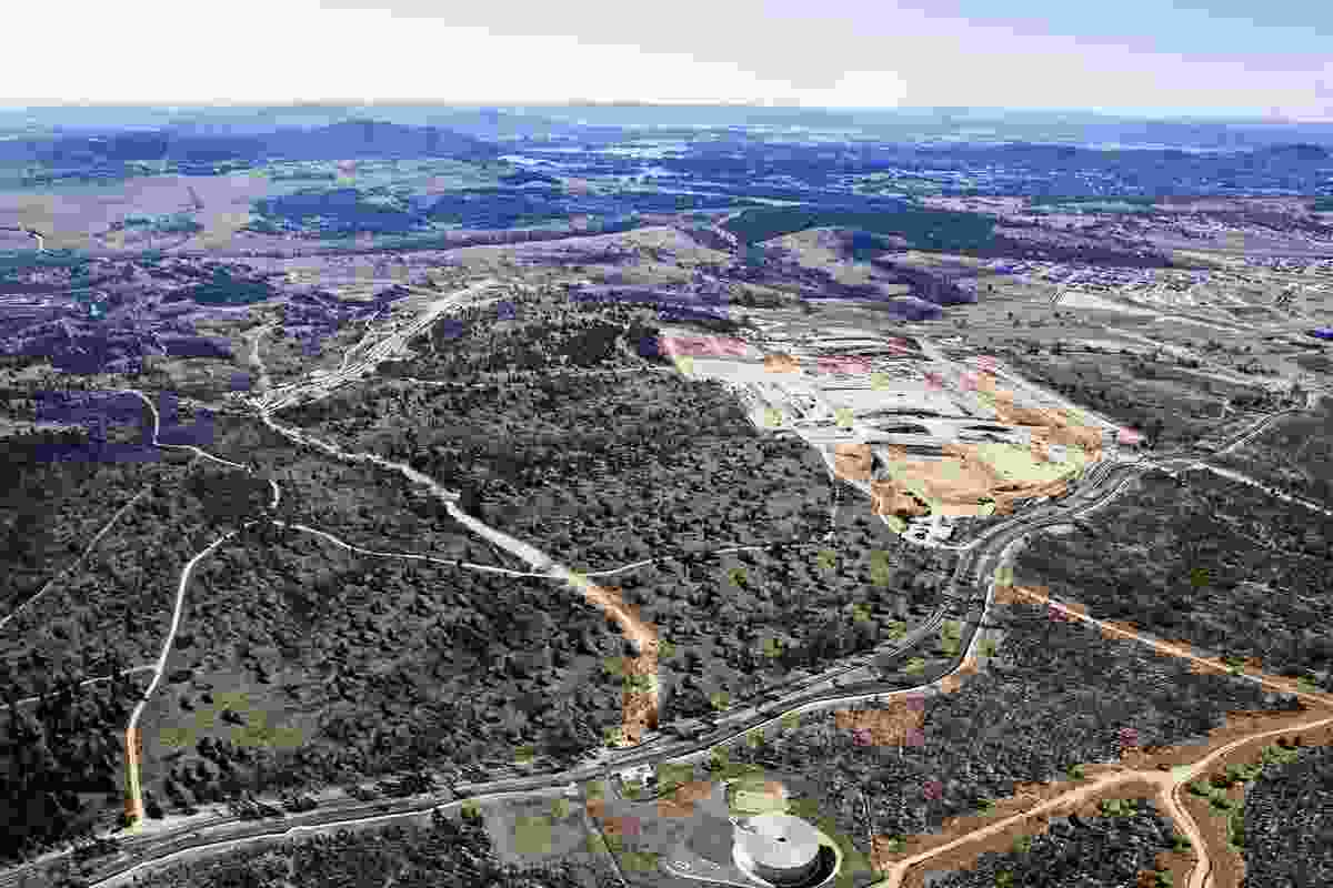 The new suburb of Denman Prospect is located close to Canberra's CBD, and is bordered by the Molonglo River and the National Arboretum.