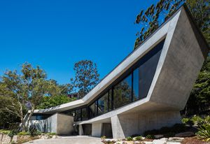 Castle Cove House by Terroir in collaboration with Pascale Gomes-McNabb Design.