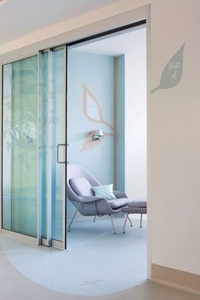 Mater Hospital Poche Van Norton Special Care Nursery by Alexandra Kidd Design.