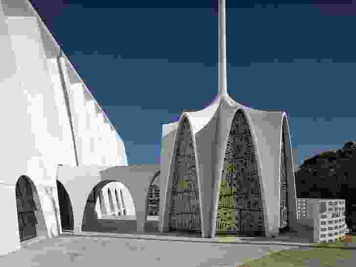 The Robin Gibson Award for Enduring Architecture: Holy Family Church, Indooroopilly by Douglas and Barnes.