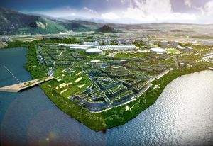 BVN's proposal for the Rio 2016 Olympics.