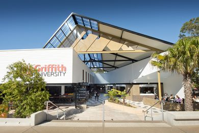 Griffith University Student Guild Bar & Link refurbishment by Push.