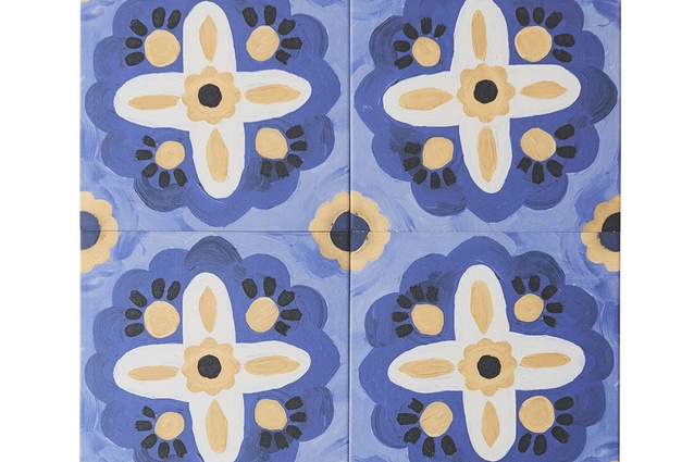 Bonnie and Neil x Byzantine Design tiles