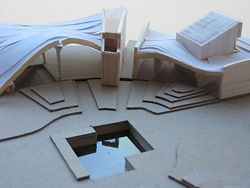 Scale model by Lily Tandeani.