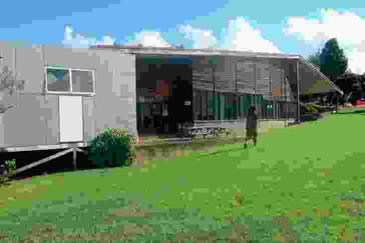 Pukanga Māori Studies building at Unitec (Auckland, 1991).