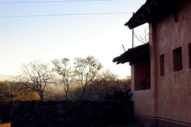 Hacienda Ahuacatepec, a 300-year-old estate in the town of Atenguillo, along the Ruta del Peregrino.