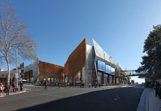 Wollongong Central expansion by Rice Daubney and GPT.