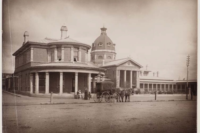 Post Office & Court House, Bathurst, about 1892-1900.