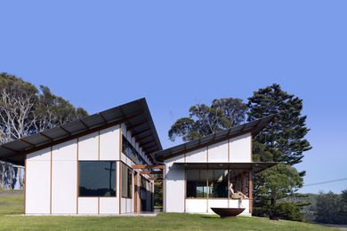 Dogtrot House by Dunn & Hillam Architects.