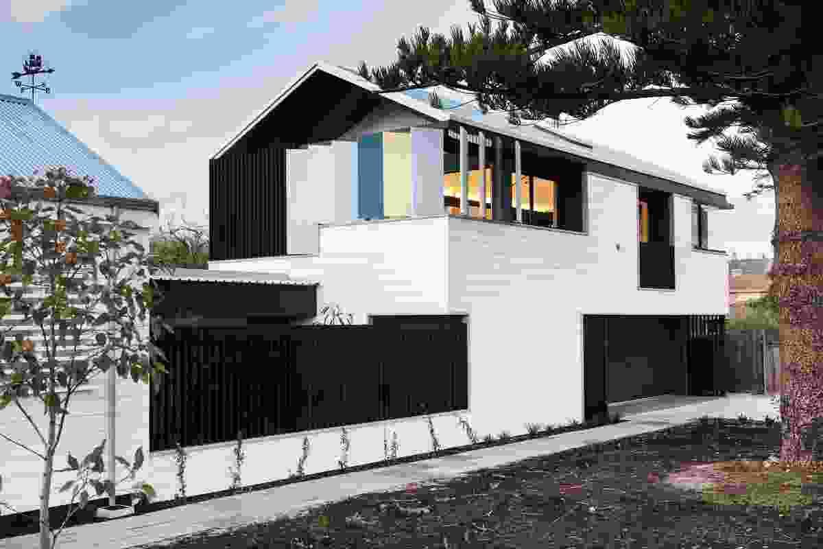 Parmelia Street House by Philip Stejskal Architecture.