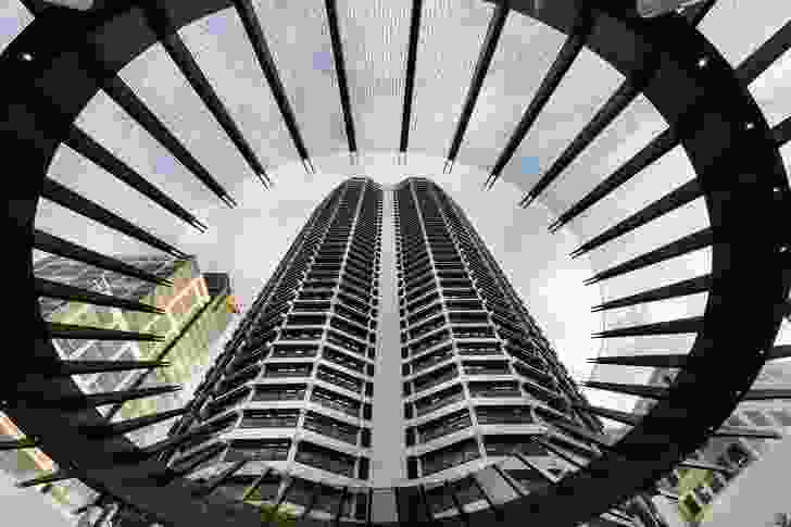 QV1 Tower by Harry Seidler and Associates.