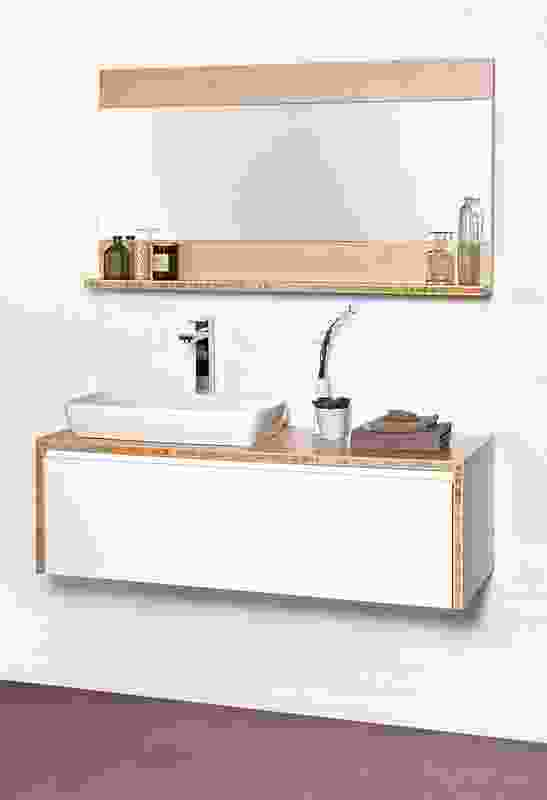 Cibo Eco wall-hung vanity unit from Reece.