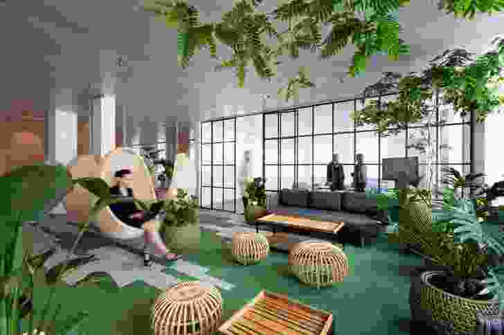 """A """"digital innovation centre"""" in Denmark features an """"indoor garden"""" for recharging and changing the pace of the workday."""