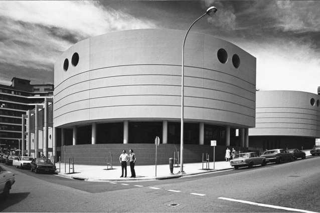 Carving/casting: David Maddison Building – Clinical Sciences Building, University of Newcastle, Newcastle, New South Wales (1981) – 1982 RAIA NSW Chapter Merit Award.