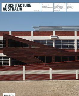 Architecture Australia, September 2009
