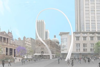 The updated design for Cloud Arch by Junya Ishigami.