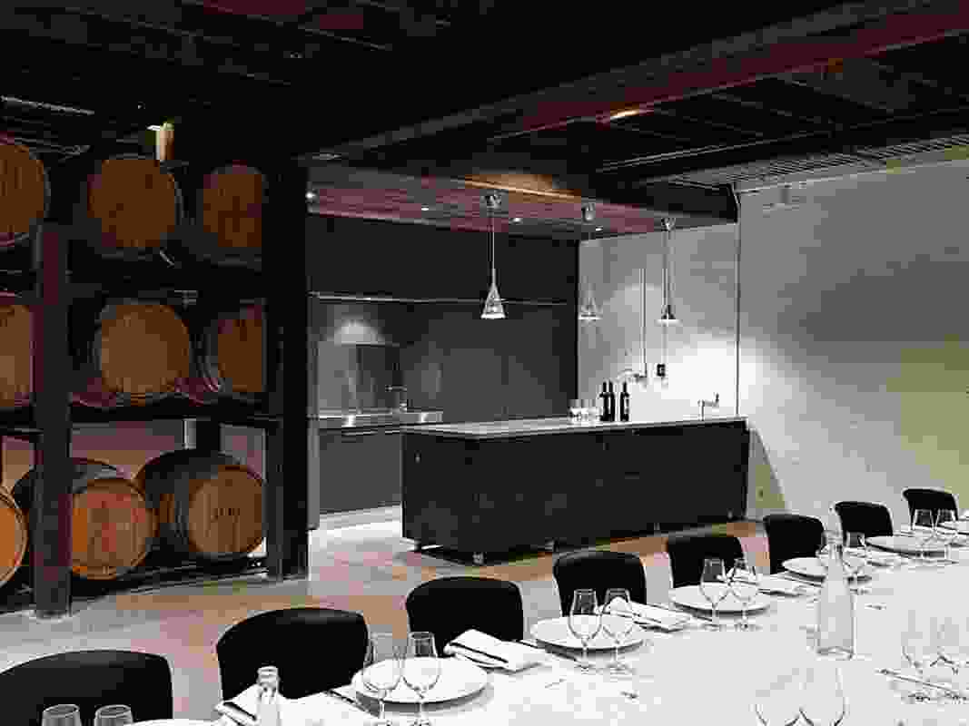 Yalumba Signature Cellar and Tanks 11 and 12 by Grieve Gillett.